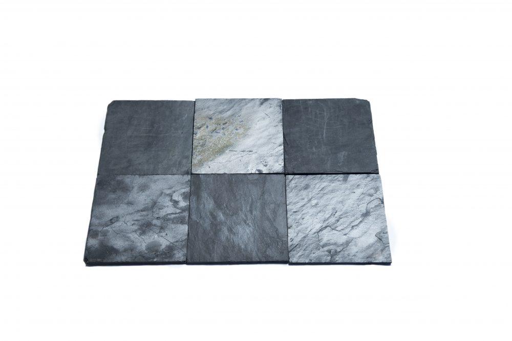 blue slate tiles