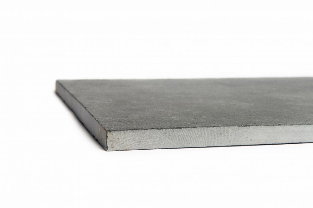 Black limestone tile