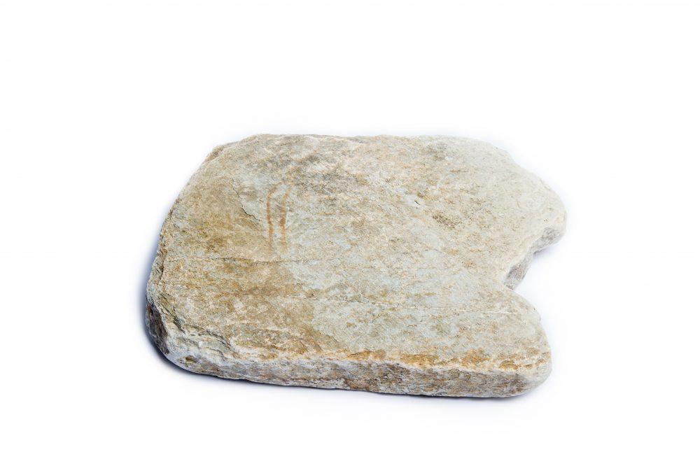 Quartz stepping stone