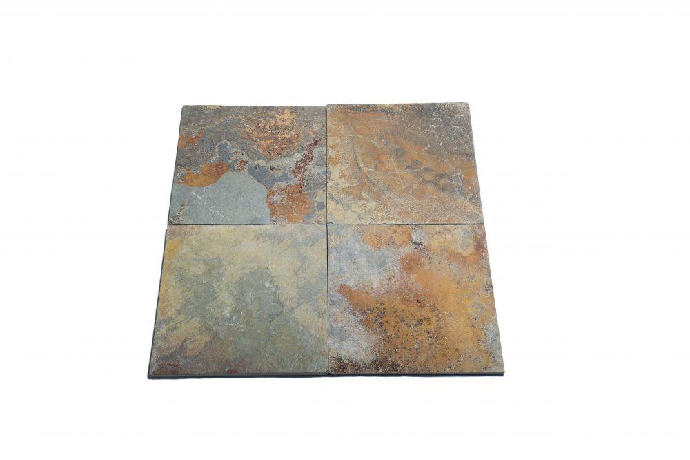 Rustic slate tiles