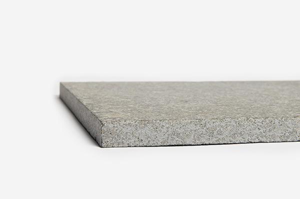 Charcoal flamed ivory granite