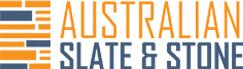 australian slate and stone logo